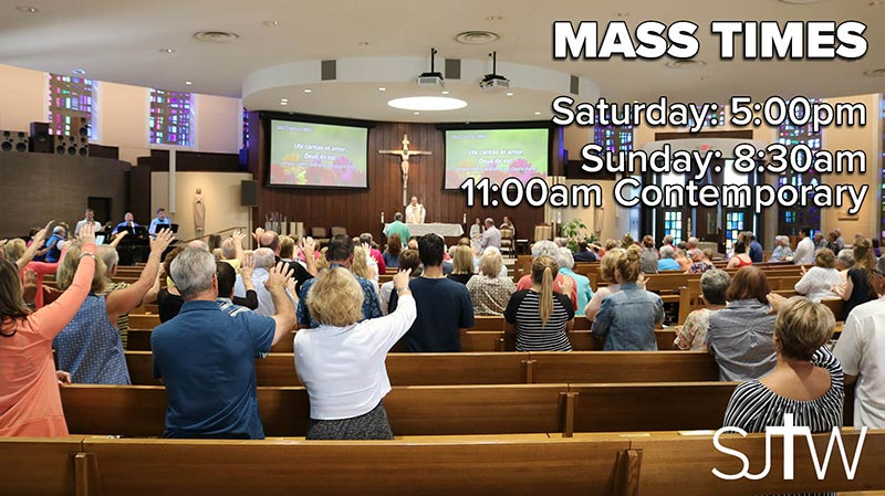 St. Joseph the Worker Mass Times