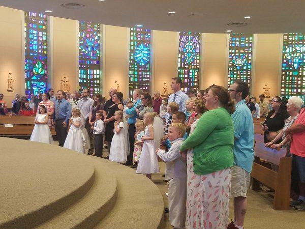 First Eucharist 2017