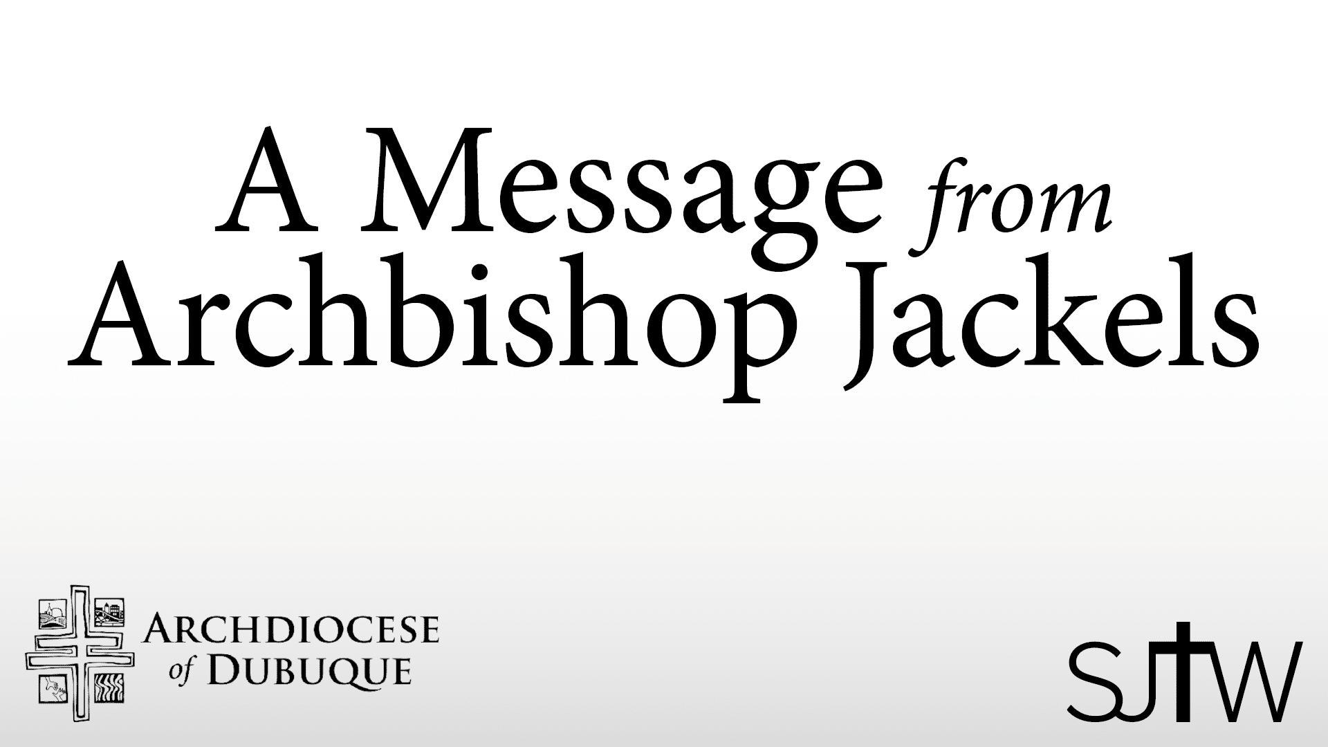 Archbishop's Easter Message