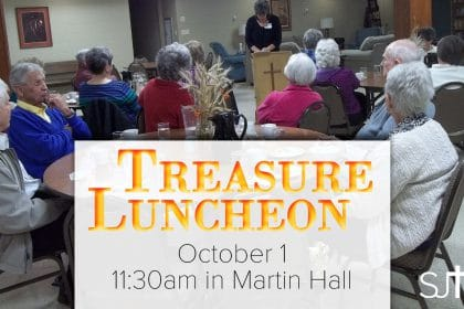 Treasure Luncheon