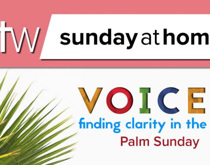 Sunday at Home – April 5