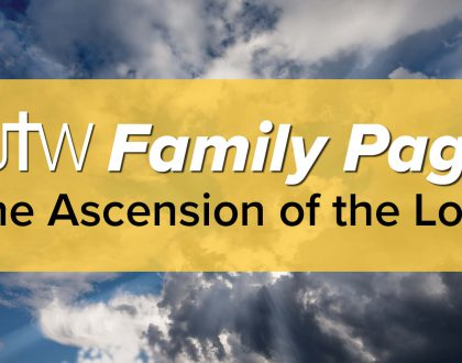 Family Page – Ascension of the Lord