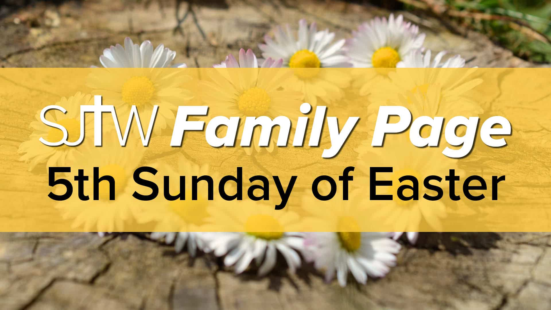 Family Page - 5th Sunday of Easter