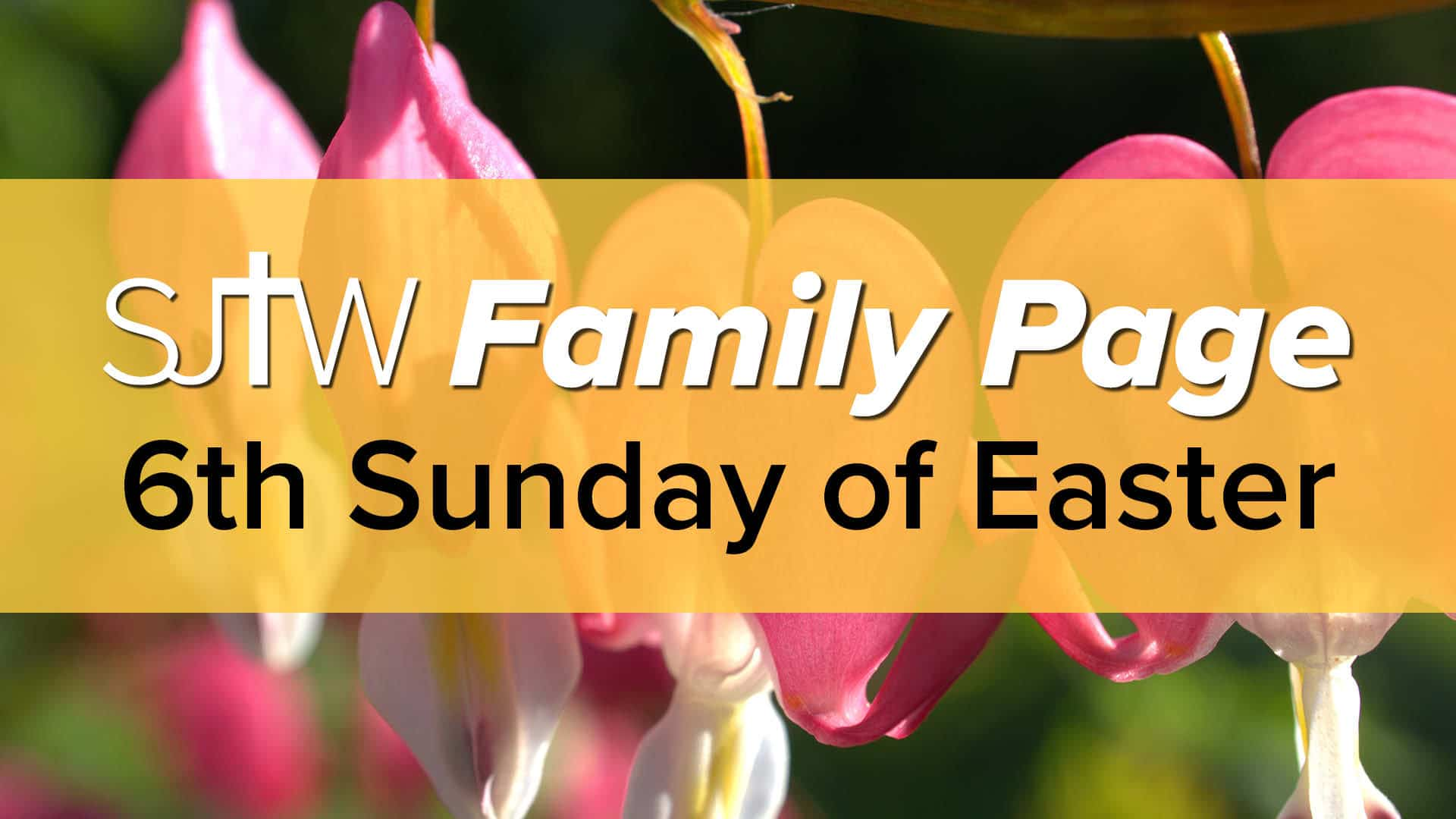 Family Page - 6th Sunday of Easter