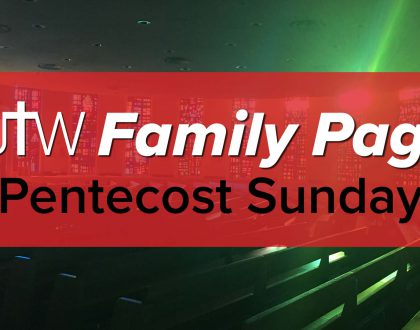 Family Page – Pentecost Sunday