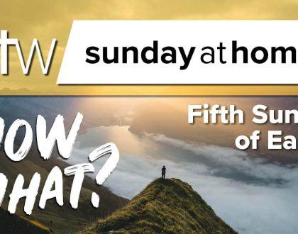 Sunday at Home | May 10