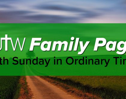 Family Page – 14th Sunday in Ordinary Time
