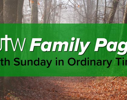Family Page – 28th Sunday in Ordinary Time