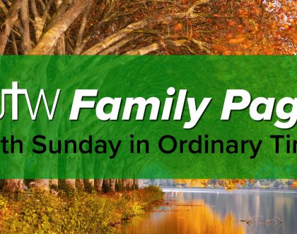 Family Page – 29th Sunday in Ordinary Time