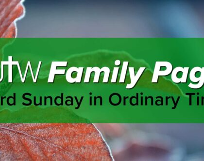 Family Page – 33rd Sunday in Ordinary Time