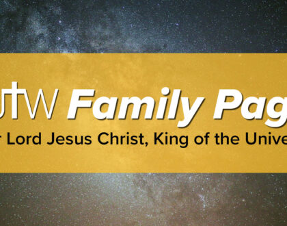 Family Page – Christ the King
