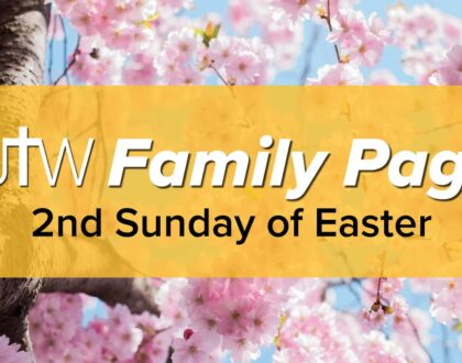 Family Page – Second Sunday of Easter
