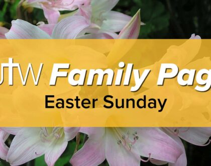 Family Page – Easter Sunday